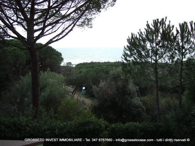 """affitto estivo, casa vacanze, Castiglione della Pescaia (GR), V.le Toscana zona """"Val delle Cannucce"""""""