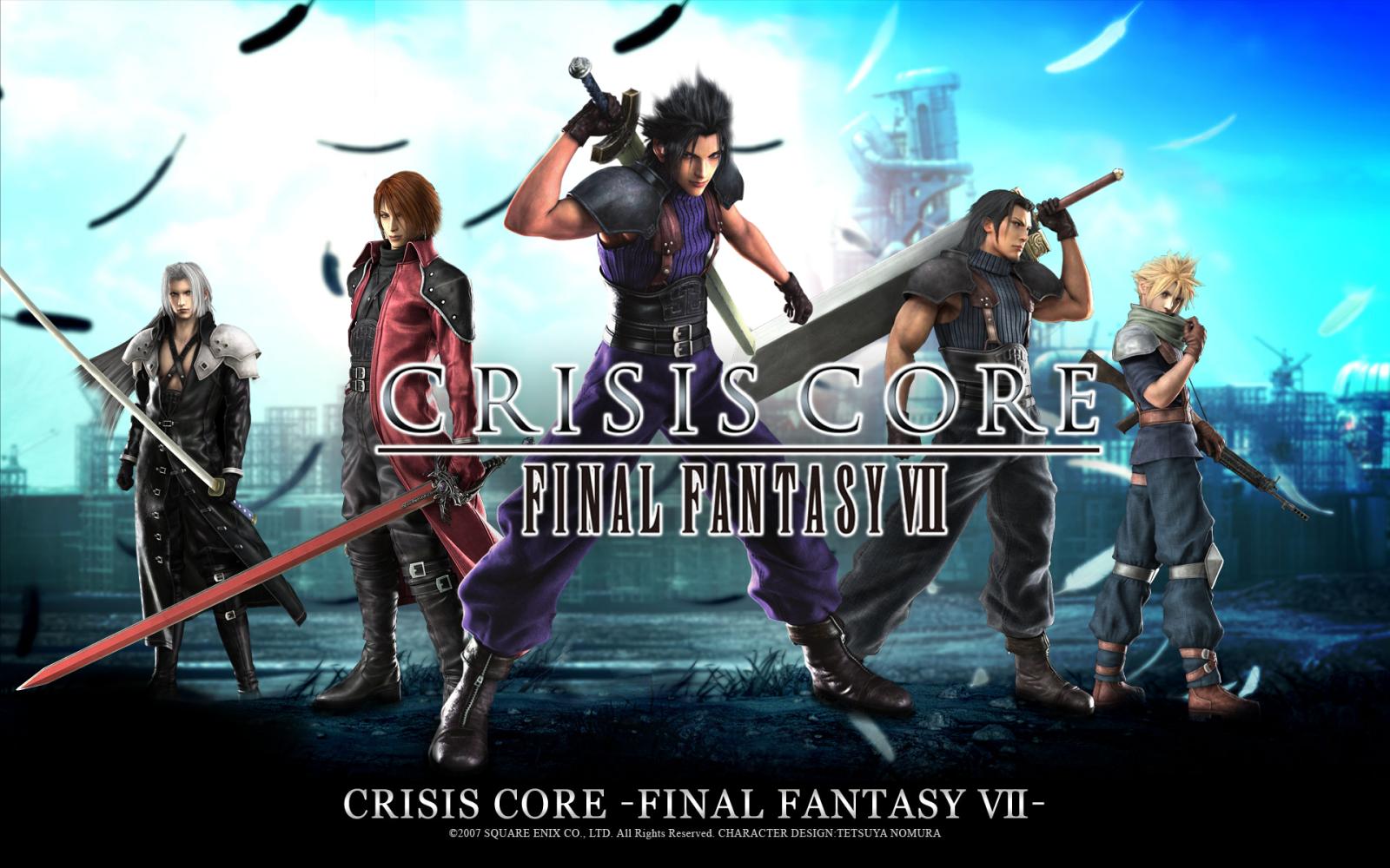 Crisis Core Final Fantasy VII PSP ISO+CSO