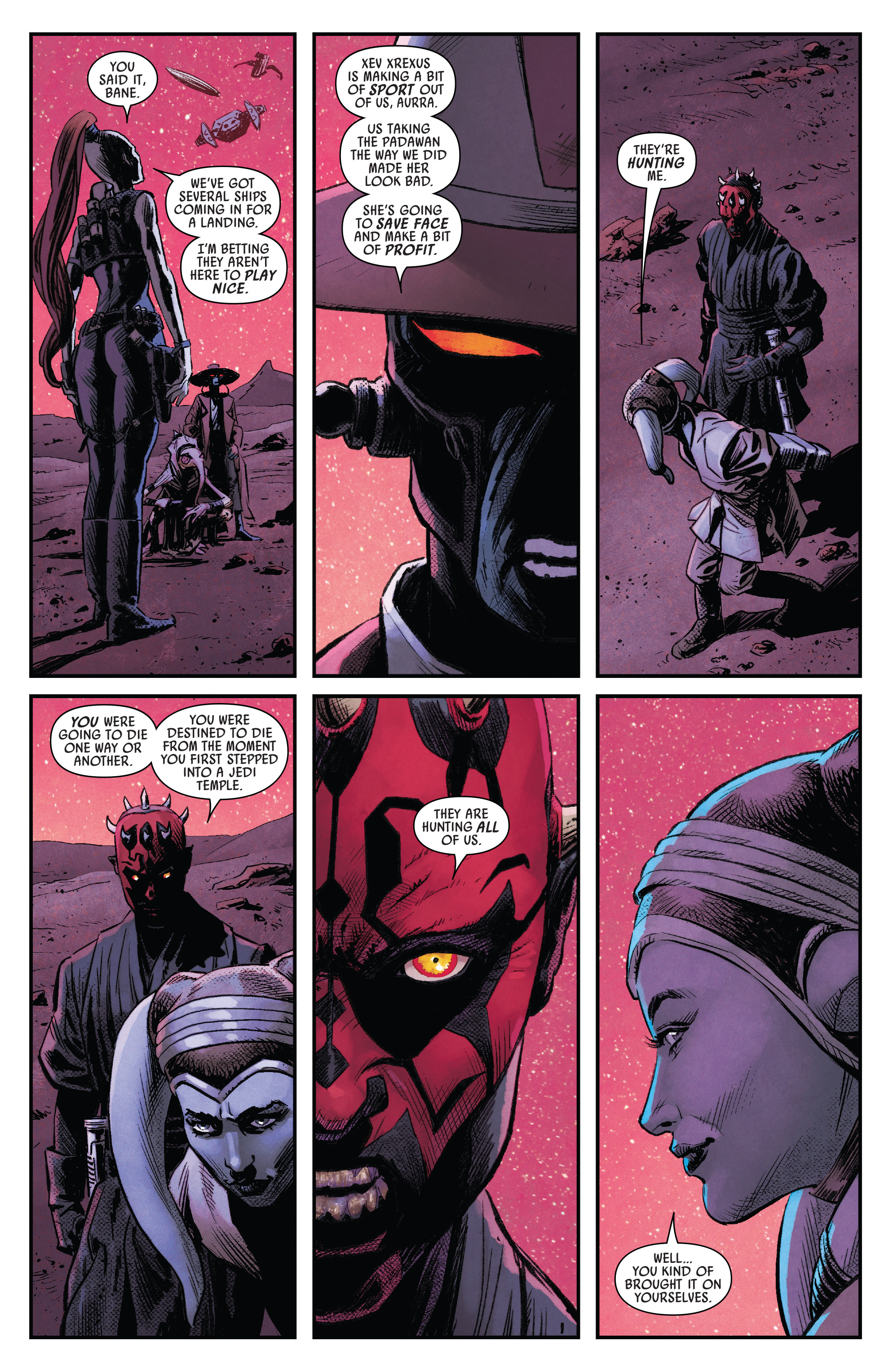 Read online Darth Maul comic -  Issue #4 - 5