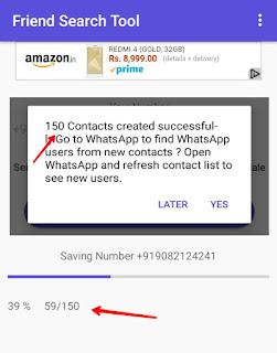 Khubsurat ladki 150 numbers created successfully