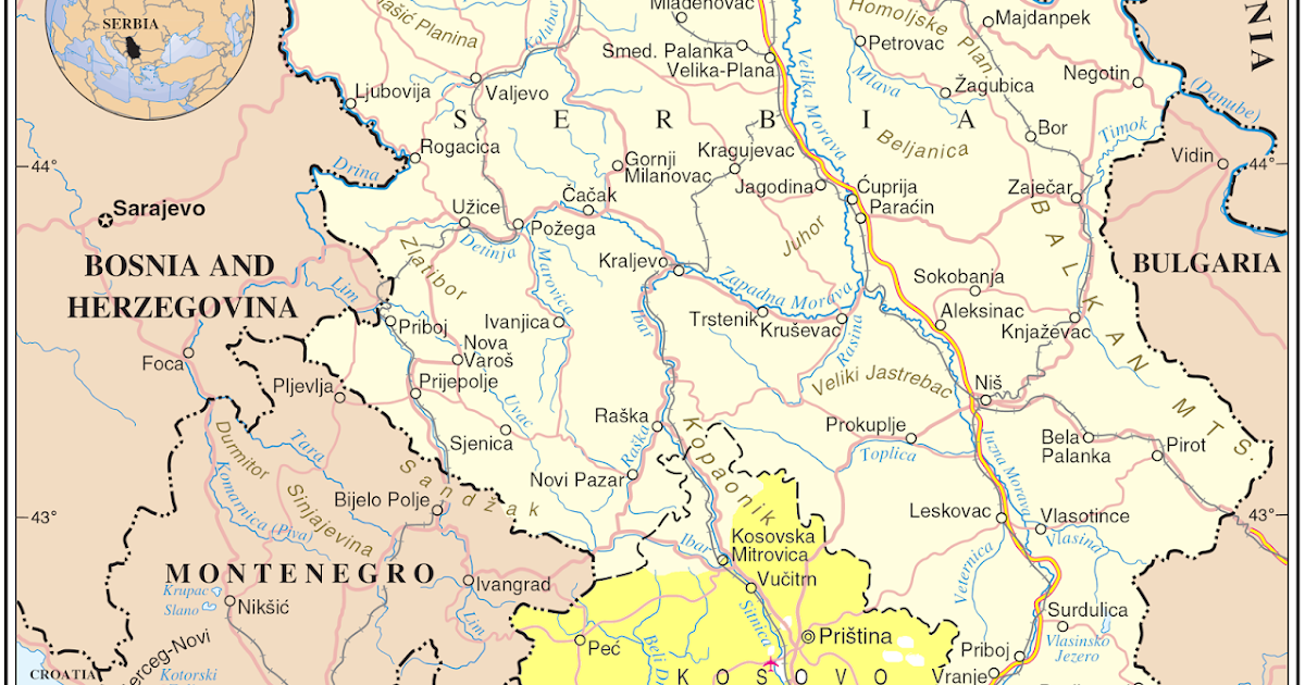 surdulica mapa Entry Five: Serbia | Over the Hills and Far Away: Travels in the  surdulica mapa