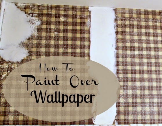 paint over wallpaper savvy southern style how to paint wallpaper 31317