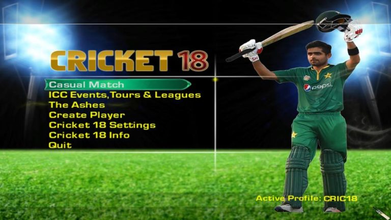 Download Cricket 18 Patch