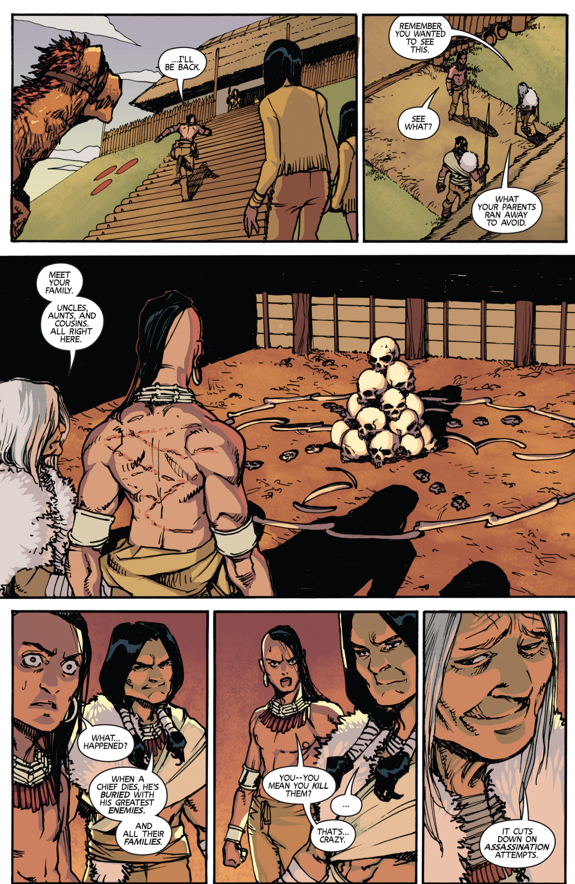 Read online Turok: Dinosaur Hunter (2014) comic -  Issue # _TPB 2 - 33