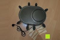 Erfahrungsbericht: Andrew James – Traditioneller Raclette Grill für 8 Personen mit thermostatischer Hitzekontrolle – Inklusive 8 Raclette-Spachteln – 2 Jahre Garantie
