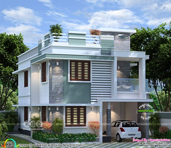 Cute house with ample design