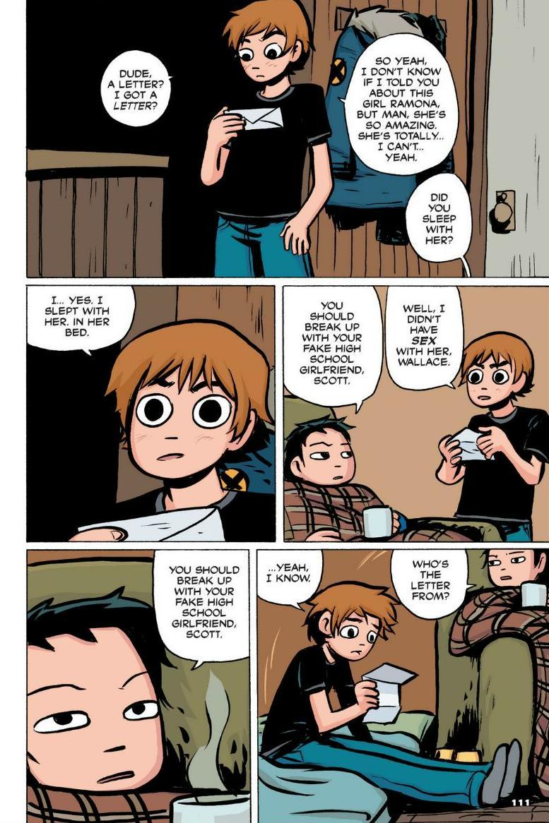 Read online Scott Pilgrim comic -  Issue #1 - 101