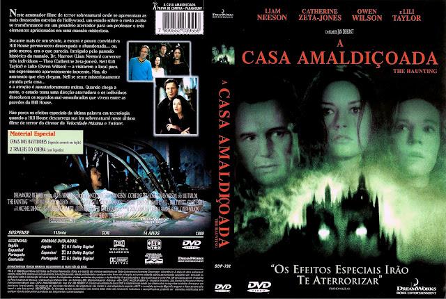 Capa DVD A Casa Amaldiçoada