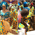 Bianca Ojukwu arrives funeral of Igbo regent Onowu Igbonine, Chief Ozua Okoye (Photos)