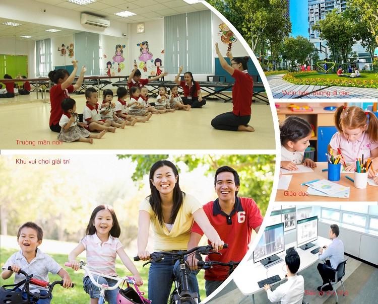 Hệ thống giáo dục tại chung cư Gelexia Riverside 885 Tam Trinh