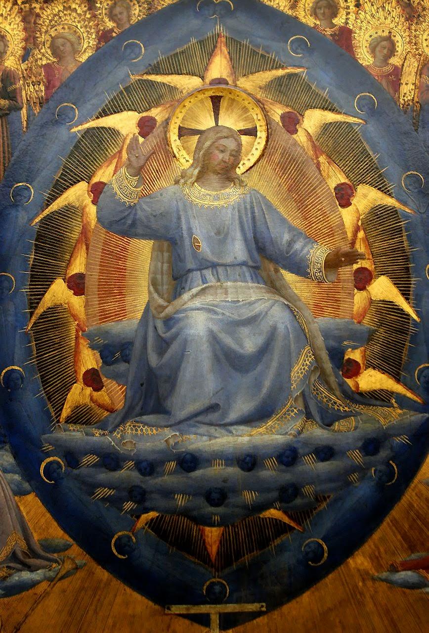 Juízo Final, detalhe, Fra Angelico  (1395 – 1455). Gemäldegalerie, Berlim.