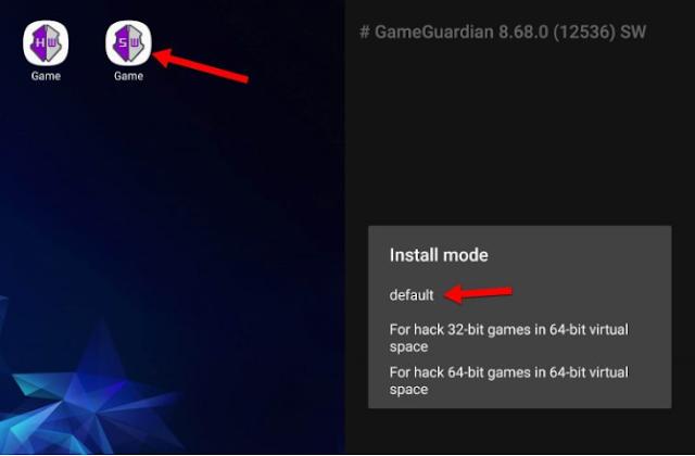 Klik Icon Game Guardian SW