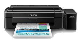 Pencetakan dan tabung tinta epson Lseries