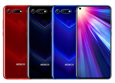 Honor View 20 with 25MP in-screen front camera, Kirin 980 Launched