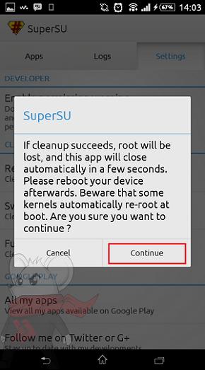 Cara Unroot Xiaomi Mi 4i 3