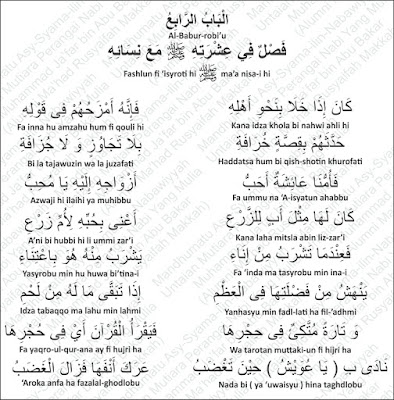 Keseharian Nabi Muhammad Rosululloh shallallahu 'alayhi wa sallam Bersama Para Istri beliau