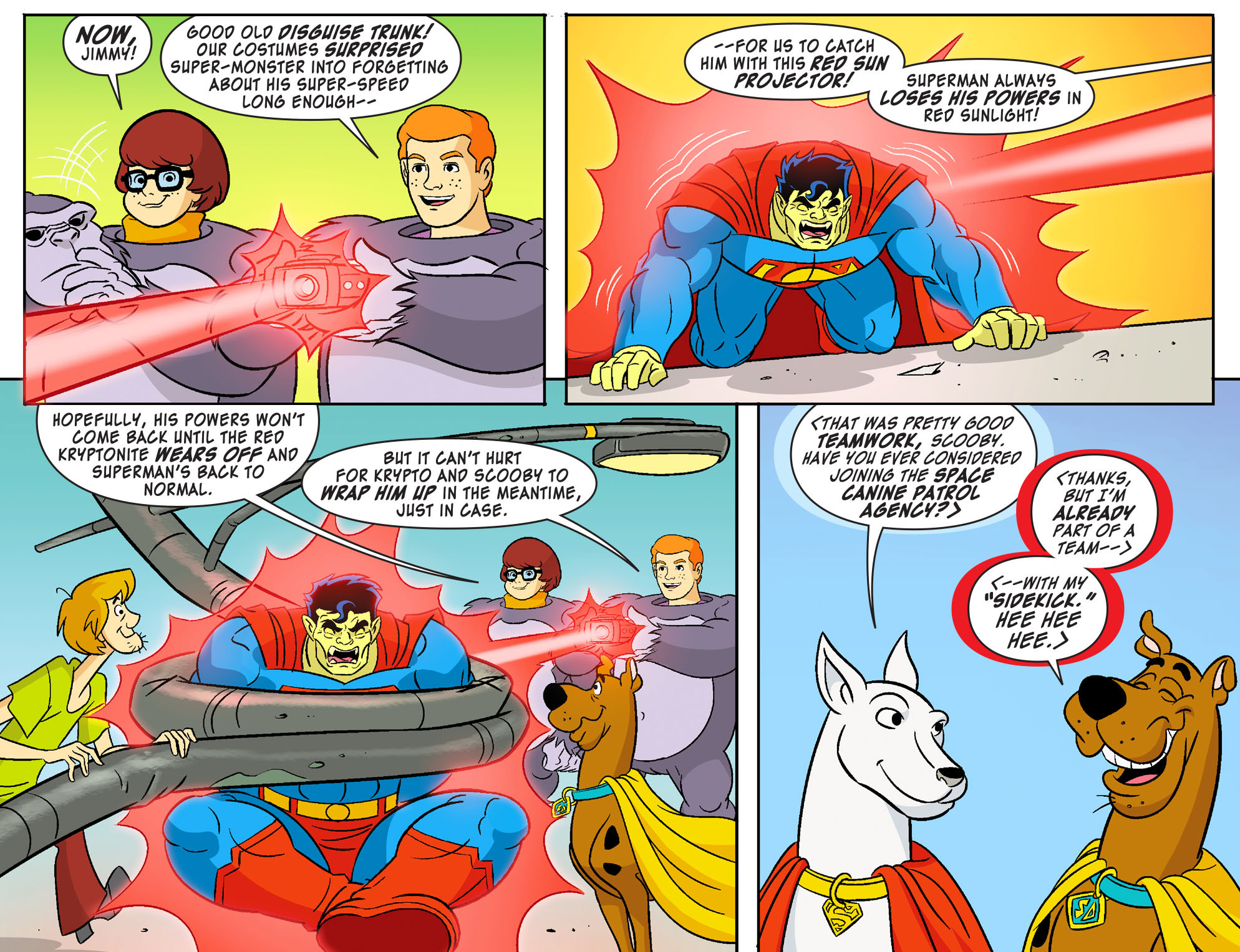 Read online Scooby-Doo! Team-Up comic -  Issue #18 - 20