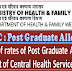 7th CPC: Revision of Rates of Post Graduation Allowance in respect of Central Health Services Officers