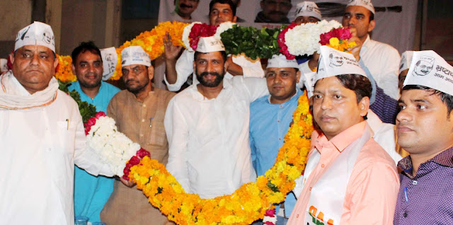 aap-leader-naveen-jaihind-haryana-faridabad