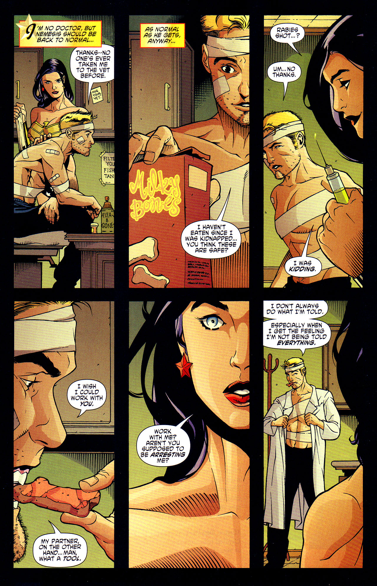 Read online Wonder Woman (2006) comic -  Issue #7 - 11