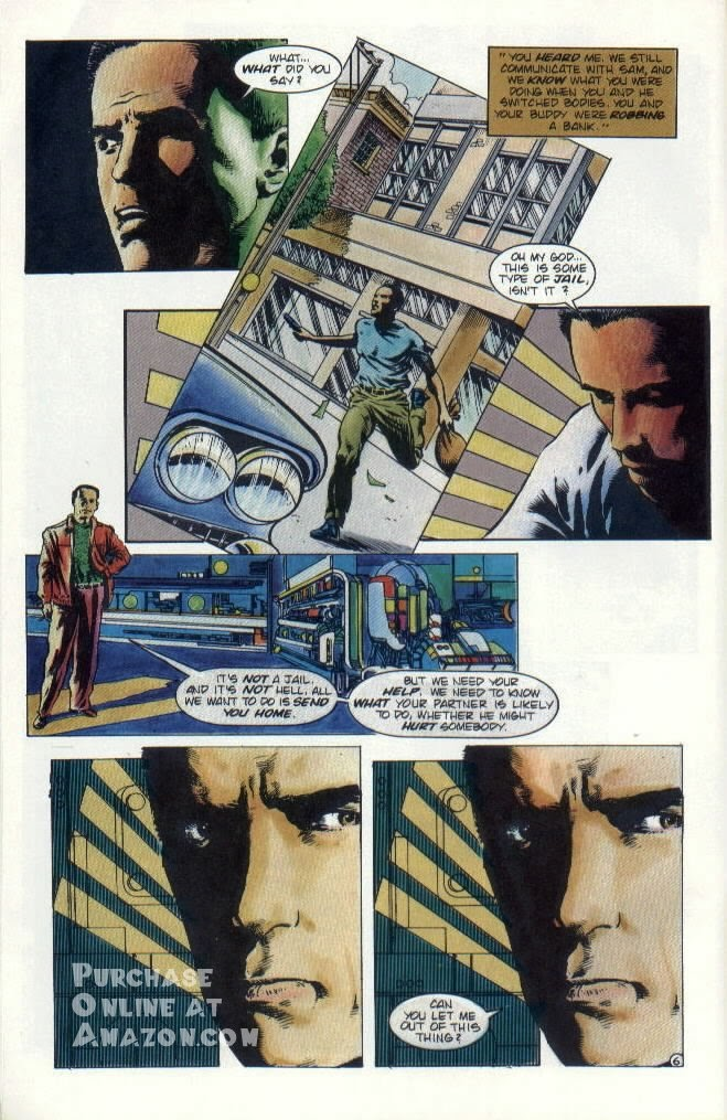 Read online Quantum Leap comic -  Issue #8 - 7