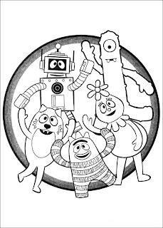 Fun Coloring Pages: Yo Gabba Gabba Coloring Pages