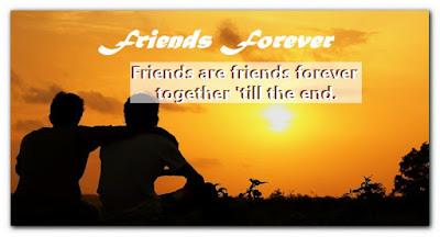 Poème d'amitié en anglais