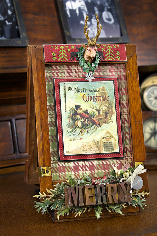 Altered Antique Camera Frame - In My Own Imagination