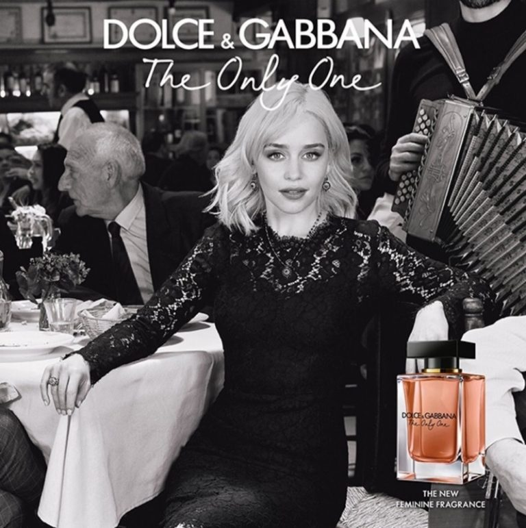 Emilia Clarke stars in Dolce & Gabbana 'The Only One' fragrance campaign