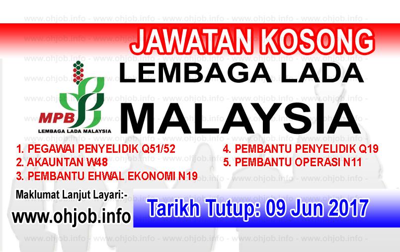 Jawatan Kerja Kosong MPB - Lembaga Lada Malaysia logo www.ohjob.info jun 2017
