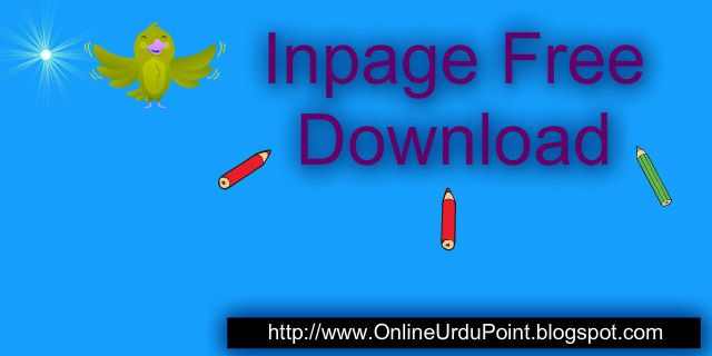 Inpage Free Download Latest Complete
