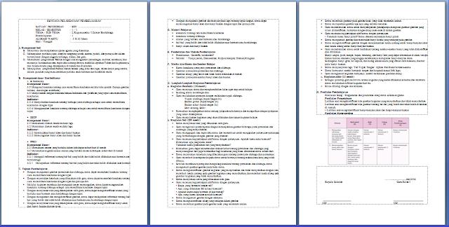 RPP Kelas 1 Kurikulum 2013 Revisi Terbaru Tahun 2016