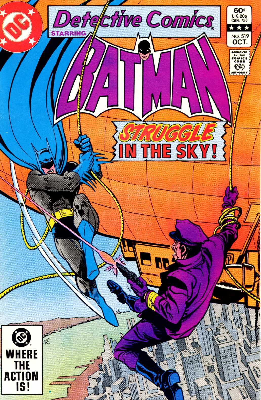 Detective Comics (1937) 519 Page 1