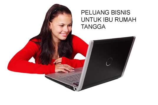 Bisnis online ibu rumah tangga