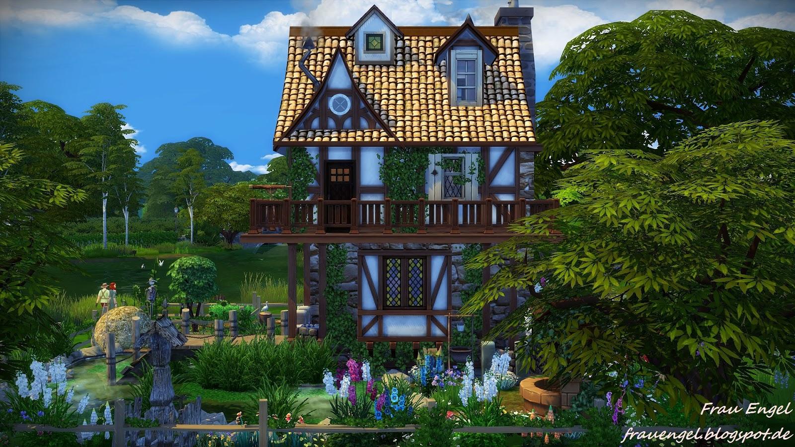 Frau engel ts4 witch house for 3 4 house