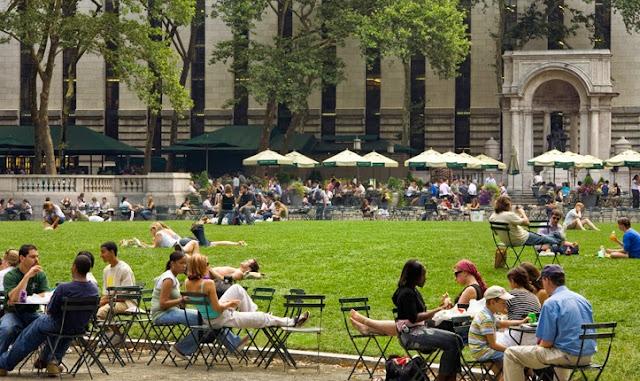 Pontos turísticos em Nova York: bryant Park