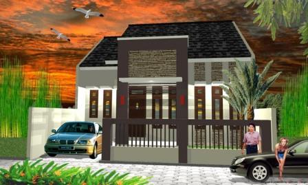 Desain Rumah Minimalis Luas Tanah 72  desain rumah minimalis modern terbaru 2013 tribun sumsel