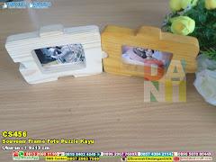 Souvenir Frame Foto Puzzle Kayu