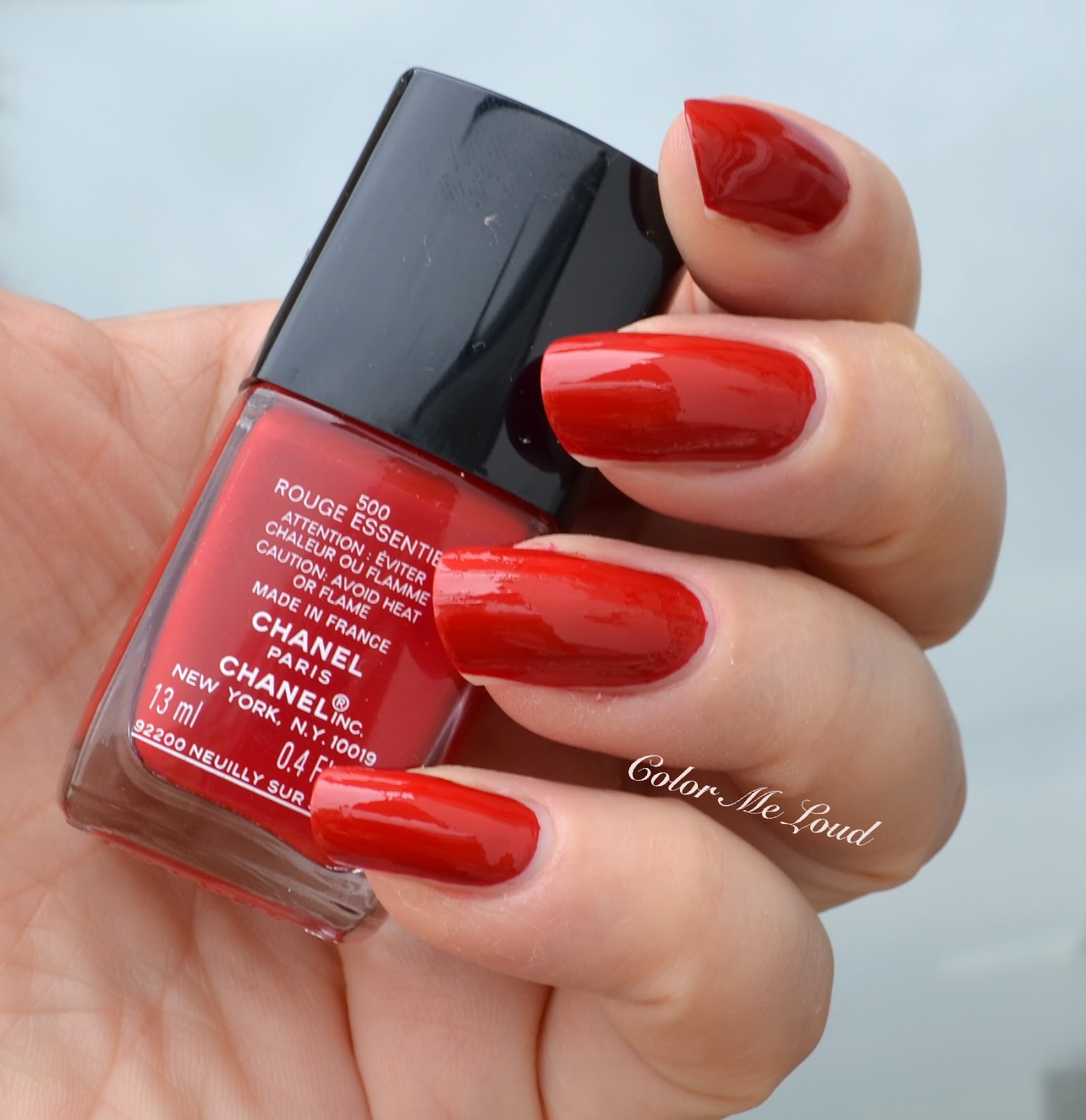 Chanel Le Vernis Long Wear Nail Colour Reds, Review, Swatch ...