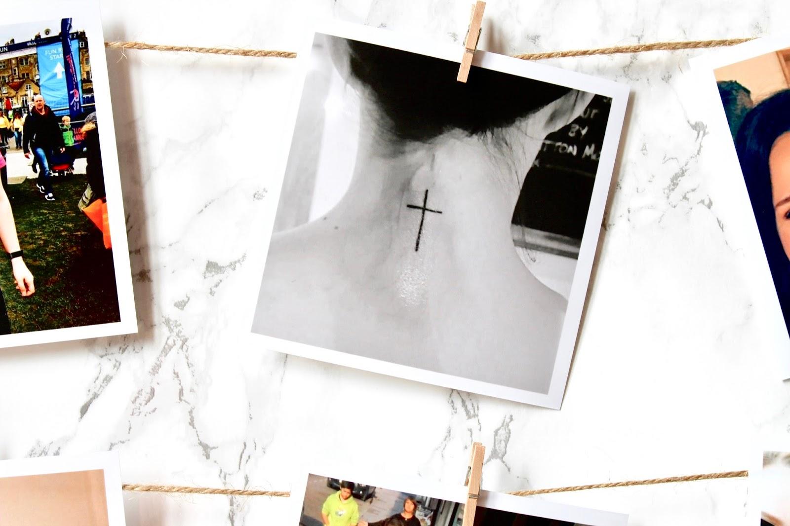 Printiki Image Cross Tattoo