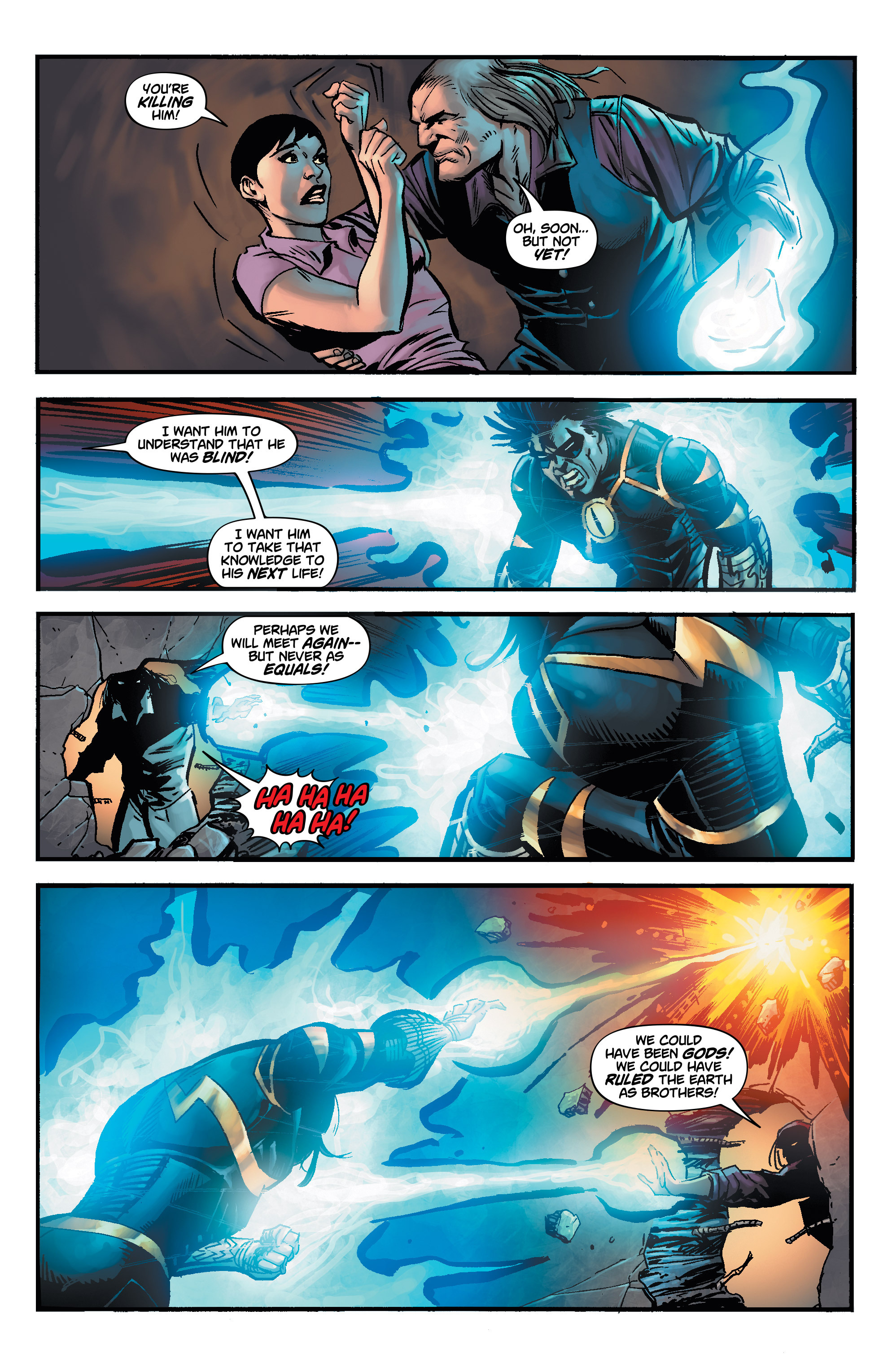Read online Shadow Tiger comic -  Issue #4 - 8