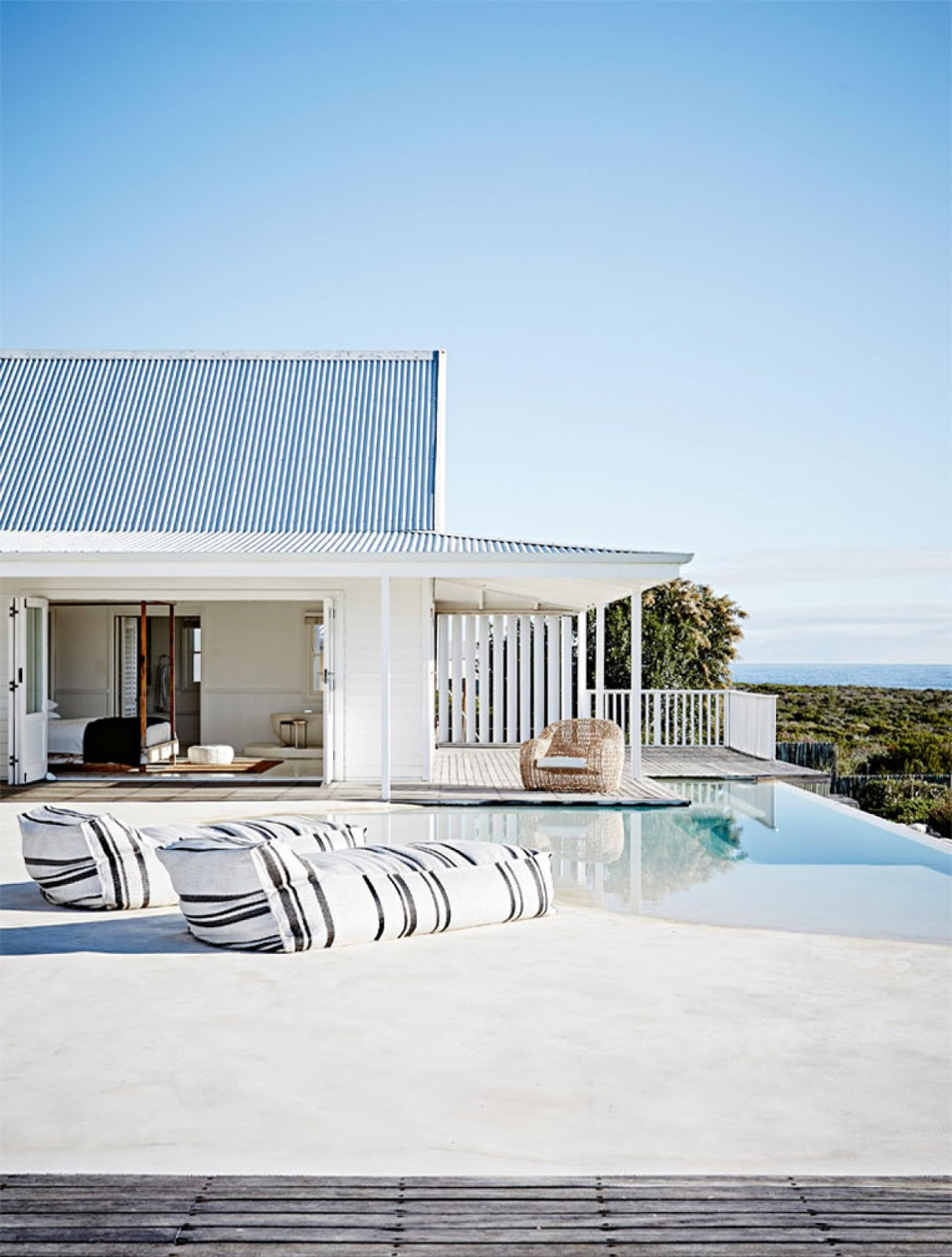 feature friday south african beach house glamour coastal living