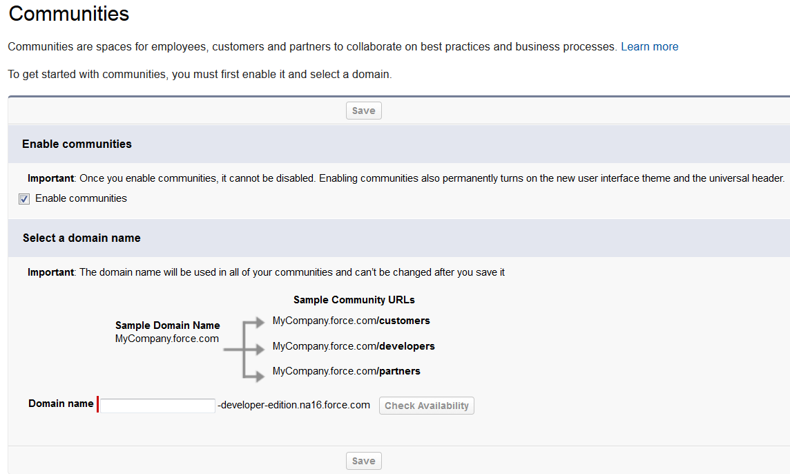 my experiments with Salesforce com: Salesforce Communities - Part1