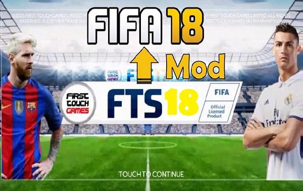 Download FTS 2018 Mod FIFA 18 Apk Obb Data Game