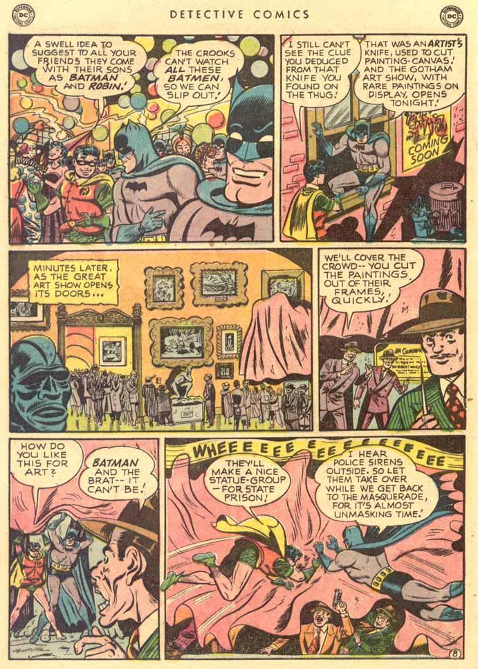 Read online Detective Comics (1937) comic -  Issue #159 - 10