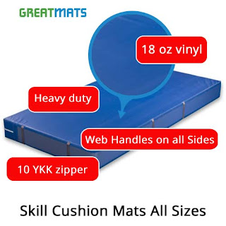 Greatmats Skill Cushion Mats for Gymnastics