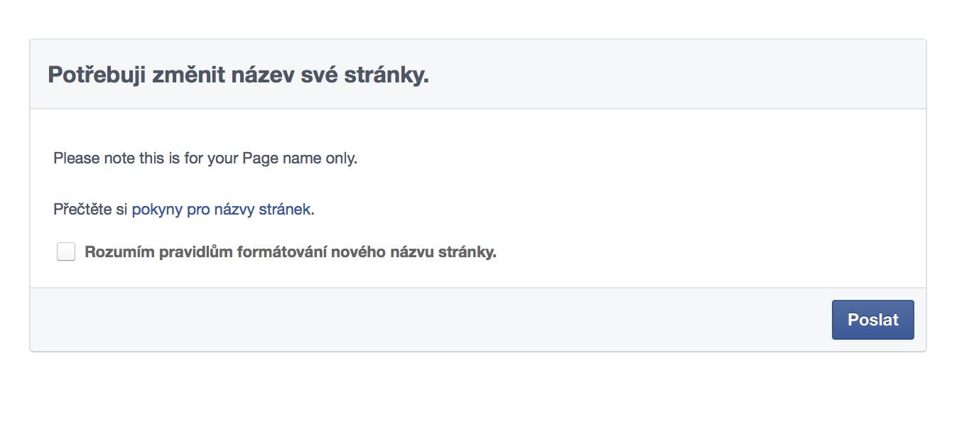Facebook stránky - marketing