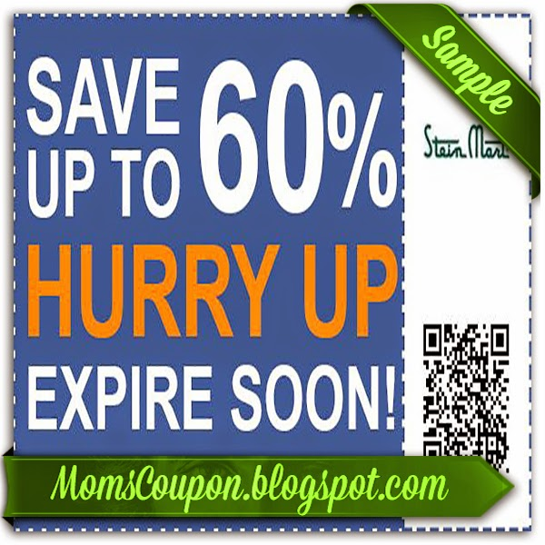 image about Stein Mart Printable Coupon known as Stein mart coupon code