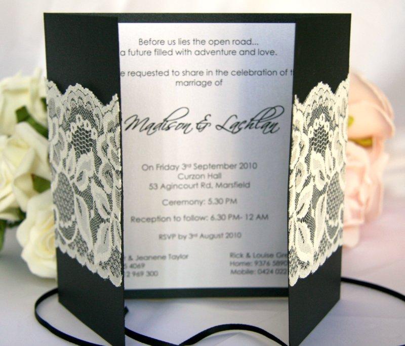 Hallmark Invitations Wedding: Glambox:Beautiful Make~up Is Our Hallmark!: Laced Wedding