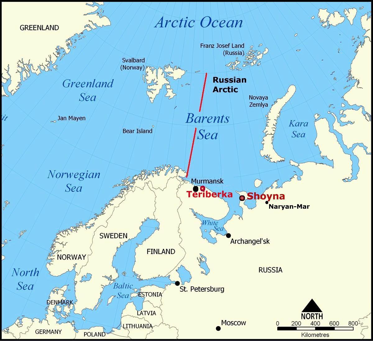 Ultima Thule Teriberkathe reborn Russian Arctic ghost